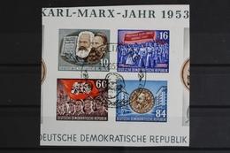 DDR, MiNr. 392-395 B Y I, Blockmittelteil, ESST, BPP Signatur - [6] République Démocratique