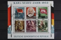 DDR, MiNr. 386-391 A Y I, Blockmittelteil, ESST, BPP Signatur - [6] République Démocratique