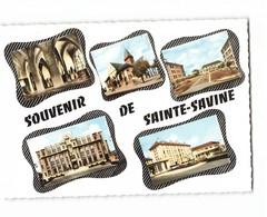 10 Sainte Savine Souvenir Carte 5 Vues CPSM GF Edit Estel N°52921 Photo - France