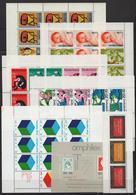 Nederland, 14 Blocks 1966 -1977, MNH** (19h) - Stamps