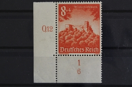 Deutsches Reich, MiNr. 755, Ecke Li. Unten, FN 6, Postfrisch / MNH - Allemagne