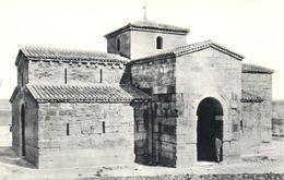 POSTAL   ARTE VISIGOTICO  -IGLESIA DE ZAMORA - Museos
