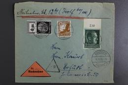 Deutsches Reich, MiNr. 671 X Oberrand Auf Nachnahme-Brief - Allemagne