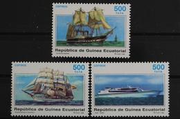 Äquatorialguinea, Schiffe, MiNr. 1826-1828, Postfrisch / MNH - Guinée Equatoriale