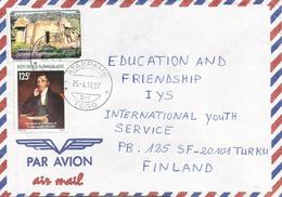 Togo 1990 Atakapame G-1 Sir Rowland Hill Traditional House Cover - Togo (1960-...)