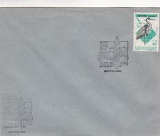 1974 FDC COVER URUGUAY- HECTOR SUPPICI SEDES. TIMBRE ARDEA COCOI- BLEUP - Uruguay
