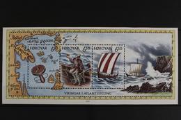 Färöer, Schiffe, MiNr. Block 12, Postfrisch / MNH - Färöer Inseln