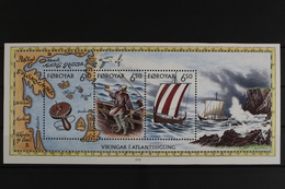Färöer, Schiffe, MiNr. Block 12, Postfrisch / MNH - Faeroër