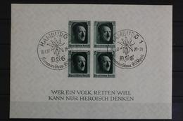 Deutsches Reich, MiNr. Block 8, Gestempelt - Deutschland