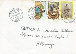 Togo 1989 Kpalime TRI No.1 Northern Muslim Chief Market Cover - Togo (1960-...)