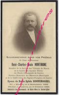 En 1930 Merris Et Caestre (59) René MONTAIGNE, ép Sylvie HOUVENAGHEL Harmonie Municipale-pompier - Décès