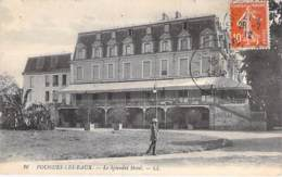 58 - POUGUES LES EAUX : Le SPLENDID Hotel Restaurant - CPA - Nièvre - Pougues Les Eaux