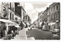 10 Romilly Sur Seine Rue De La Boule D' Or Vieille Voiture Citroen DS Café Du Commerce CPSM PF Edit Estel N°10022 Photo - Romilly-sur-Seine