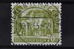 Berlin, MiNr. 123, Zentrischer Berlin Stempel - Berlin (West)