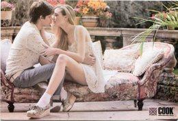 COOK MODA ROPA BESO FASHION CLOTHES KISS. POSTAL PUBLICIDAD ARGENTINA AÑO 2010 - LILHU - Moda