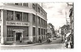 10 Romilly Sur Seine Rue De La Boule D' Or La Poste PTT Vieille Voiture Citroen DS CPSM PF Edit Estel N°10020 Photo - Romilly-sur-Seine