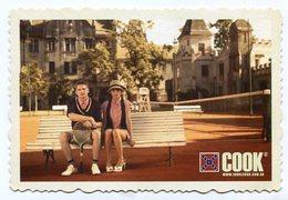 COOK, MODA ROPA PAREJA TENIS, FASHION CLOTHES TENNIS COUPLE. POSTAL PUBLICIDAD ARGENTINA AÑO 2009 - LILHU - Parejas