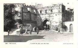 POSTAL  TETUAN  -MARRUECOS  - PUERTA DE LA REINA  (FOTO CALATAYUD) - Marruecos