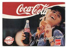 COCA-COLA, COKE, DRINK OF SUMMER, BEBIDA GASEOSA . POSTAL PUBLICIDAD ARGENTINA CIRCA 2000's - LILHU - Publicidad