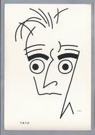 """IT.- TATO. MOVIMENTO FUTURISTO ITALIANO. Illustrator CRALI 1930. Caricature TATO. FUTURISTI IN LINEA 1"""" SERIE EDIZIONE - Humor"""