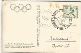 ALEMANIA TP OLYMPIA STADION MAT JUEGOS OLIMPICOS DE BERLIN OLYMPIC GAMES - Verano 1936: Berlin