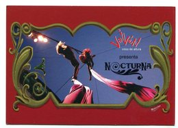 """NOCTURNA"" VAIVEN, CIRCO DE ALTURA, CIRCUS. POSTAL PUBLICIDAD ARGENTINA AÑO 2009 - LILHU - Circo"