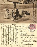 Indonesia, JAVA SOERABAIA, Native Money Changers (1914) Postcard - Indonesië