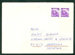 Croatia 1995 CENSURE Republic Of Serbian Krajina ( RSK ) To Orahovica In Croatia Letter Cover Ilok - Croazia