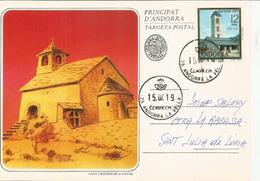 Església De Sant Miquel D'Engolasters & Sant Cristofor D'Anyos,  églises Du Xiie Siècle - Lettres & Documents