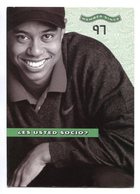 TIGER WOODS, SOCIO AMERICAN EXPRESS SINCE 1997, CARDS. POSTAL PUBLICIDAD ARGENTINA CIRCA 2000 - LILHU - Golf