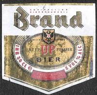 Etiquette Bière Bier Brand Up Pilsener Wijlre Limburg - Beer