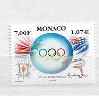 2000 MNH Monaco,  Postfris - Mónaco