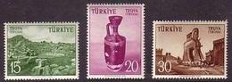 1956 TURKEY TOURIST PROPAGANDA OF TROIA MNH ** - 1921-... République