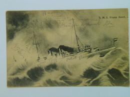 K.U.K. Kriegsmarine Marine Pola SMS 1237 SMS Franz Josef 1907 Ed G Fano - Warships