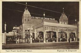 Indonesia, JAVA SOERABAIA, Zangrandi's Tutti Frutti Ice-Cream Palace (1930s) - Indonesië