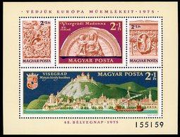1975 Hungary / Magyar / Hongrie. Block BF N° 121 / ** MNH / Catalog Price (cote) 15 € - Blocchi & Foglietti
