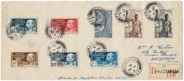 Lettre Recommandée Brazzaville / Bordeaux Après Arcachon  TBE - A.E.F. (1936-1958)