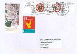 Brief Zwolle Ren Seitling Edelstein Fibula Dorestad Wein Bacchus - Period 2013-... (Willem-Alexander)