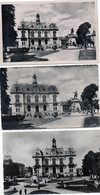 3988 - Lot 3 Cpa Tarbes La Place Hotel De Ville, Statue - Tarbes