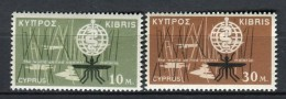 Chipre 1962. Yvert 192-93 ** MNH. - Unused Stamps