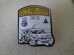 PIN'S   FORD  SIERRA  COSWORTH   RALLYE  SPRINT  DE VERVIERS  1993 - Rallye