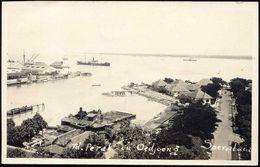 Indonesia, JAVA SOERABAIA, Td. Perak En Oedjoeng (1920s) RPPC Postcard - Indonesië