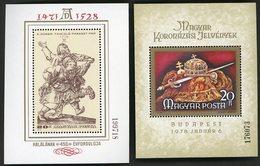 1978 / 1879 Hungary / Magyar / Hongrie. Block BF N° 139 + 140 / ** MNH / Catalog Price (cote) 20 € - Blocchi & Foglietti