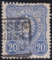Deutsches  Reich   .    Michel   .   34        .     O     .     Gebraucht   .   /     .    Cancelled - Gebraucht