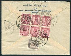 1948 Iraq Basrah Airmail Censor Cover - Bombay India - Iraq