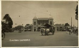 Indonesia, JAVA SOERABAIA, Simpang, Apotheek Pharmacy (1920s) RPPC Postcard - Indonesië