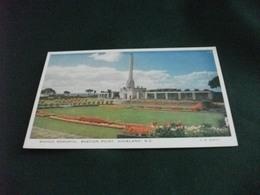 SAVAGE MEMORIAL BASTION POINT AUCKLAND NEW ZEALAND - Nuova Zelanda