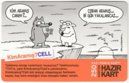 TURKEY B-541 Prepaid TurkCell - Comics - Used - Turkey