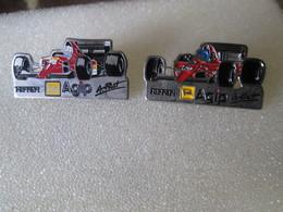PIN'S   LOT 2 FERRARI  PROST - Ferrari