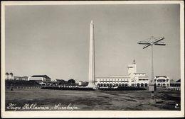 Indonesia, JAVA SOERABAIA, Tugu Pahlawan Monument (1958) RPPC Postcard - Indonesië